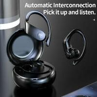 A15 TWS Wireless Bluetooth Headband Sport Earbuds Stereo Earphone+Charging Case