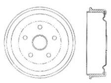 Brake Drum Rear Centric 123.63001 fits 58-63 American Motors American(Fits: Hornet)