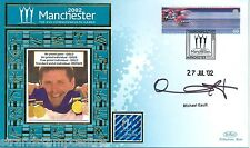 """2002 Commonwealth Games - Benham """"Special"""" - Signed by MICHAEL GAULT"""