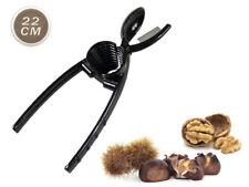 Taglia castagne e schiaccianoci conico in metallo caldarroste noci lama acciaio