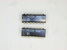 """SA74LS73N  """"Original"""" Signetics  14P DIP TTL IC  2  pcs"""