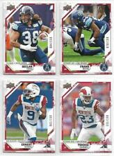 ERNEST JACKSON MONTREAL ALOUETTES 2019 UD CFL FOOTBALL RED /150 #135