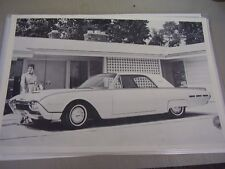 1962  FORD  THUNDERBIRD HARDTOP  12 X 18 LARGE PICTURE / PHOTO