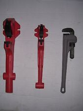 "Two Foot Vise & Pipe Wrench 1/2""-2"" Ridgid 65R Pipe Threader 811 815 11R 12R"