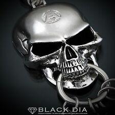 Guntwo Korean Mens Fashion Keychains - Big Skull Pendant Key Chain Ring K2061 AU