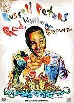 Russell Peters - Red, White and Brown (DVD, 2009, CD Combo) SEALED free shipping
