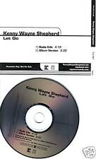 KENNY WAYNE SHEPHERD Let Go RARE EDIT PROMO CD Single