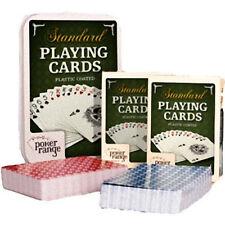 Cartas De Poker Distancia doble deck 100% de plástico