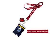 NEW SEALED OFFICIAL BBC DOCTOR WHO EXTERMINATE ENEMY OF THE DALEKS LANYARD