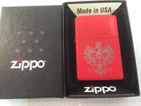 "Personalised ""Eagle of Poland"" Zippo Lighter with Free engraving on reverse ."