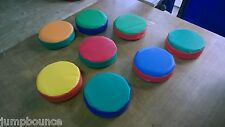 12 x Soft Play Stepping Stones with bag  12inch x 3inch Mixed FREE POST