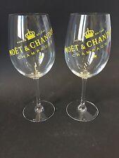 2x Moët Chandon Imperial Champagner Glas dickbauchig Solar Gold Edition NEU OVP
