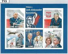 Polish Sheet Thematic Postal Stamps