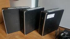 3 x HP Compaq 8000 Ultra Slim Desktop 4 GB 250 HDD Intel Dual Core E5400 2.7 Ghz
