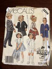 McCALL'S Jacket Skirt Pants Shorts Dressmaking Pattern 3228  Size Tall 1 VGC