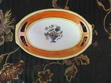 PA Arzberg BAVARIA GERMANY 49 Flowers In Vase Small Oval Dish