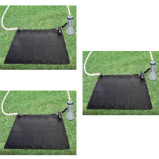 3 Intex Solar Mat Above Ground Swimming Pool Water Heater Black 28685E