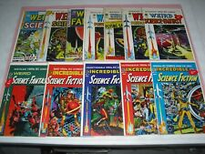 Lot 12 EC Reprint Weird Science, Fantasy, Incredible Fiction most VF/NM! 2 3 801