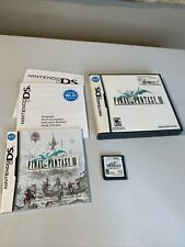 Final Fantasy Iii 3 (Nintendo Ds, 2006) Complete Game Manuals Booklet *Tested*