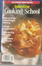 Southern Living COOKING SCHOOL Magazine 160 Kitchen tested RECIPES Spr 1996