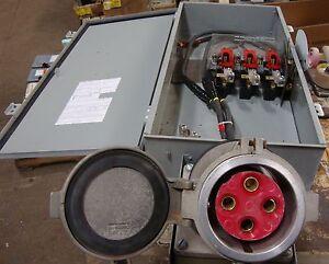Cutler- Hammer 200 Amp Heavy Duty Safety Switch 600vAC 3 Pole B8~ 19607LR