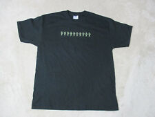 NEW Yellowcard Concert Shirt Adult Large Black Soldiers Band Tour Rock Mens 1