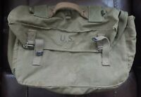 Original WWII WW2 US Army Military M1944 Canvas Lower Field Pack 1945 Dated