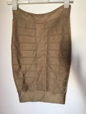 Beautiful Gold French Connection Skirt Size 8