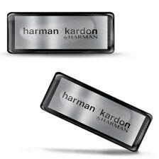 3D Silicone Domed Stickers Harman Cardon Bluetooth Speakers Portable Logo Emblem