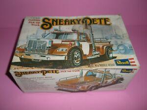 Rare Revell Sneaky Pete Pickup Truck Builder Built Parts Model Car Junkyard