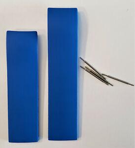 Original Tissot T-Race Men's T472, T011417A, T011414A Blue Rubber Band Strap