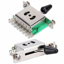 Toggle Guitar Parts 5 Way Electric Guitar Lever Switch With PCB Circuit Board