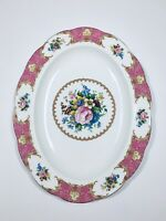 Royal Albert Lady Carlyle bone china  oval platter, 13.5""