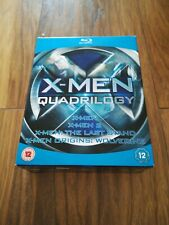 Xmen Quadrilogy - Blu-Ray - Excellent Condition - Free Postage!