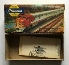 Athearn box & instructions ONLY, HO scale plastic kit 40' box car red
