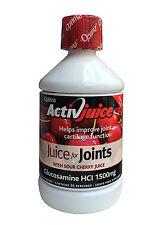 OPTIMA ACTIVJUICE CHERRY JUICE - GLUCOSAMINE FOR JOINTS HCI 1500MG. 500ml