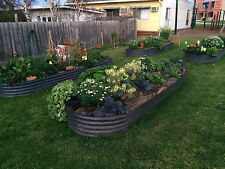 Raised Garden Bed, Planer Box, Veggie Bed, Colorbond 1600 x 650 x 425