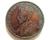 1917 Canadian One Cent Coin