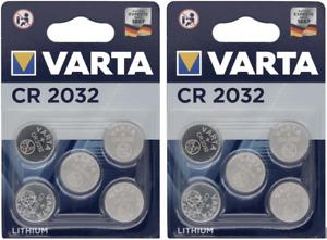 2 x VARTA CR2032 Bouton Lithium 3 V - 2 Blister de 10 Piles - Date 2030