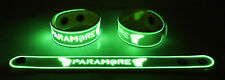 PARAMORE NEW! Glow in the Dark Rubber Bracelet Wristband Still Into You gg8