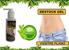 1VientrePlano Reductor QuemaGrasa Destock GEL AntiCelulitis100% EXTRACTO DE CAFE