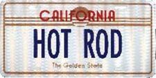 SET OF 4 CALIFORNIA HOT ROD PRISMATIC DECAL STICKER 3X6 INCH #7
