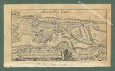 "EMILIA ROMAGNA. Acquaforte. ""Action bey Carpi"". T. Fritschen, Lipsia, anno 1702"