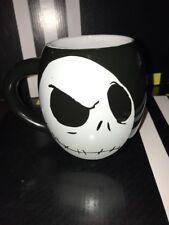Nightmare Before Christmas Jack Skellington Skull Head Face 18oz Coffee Mug NEW