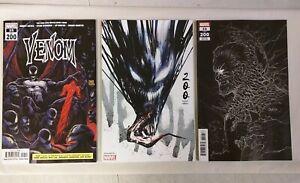 Venom #35 200 - 3 Cover Lot - Stegman Main + Jock + Gleason Variant Marvel 2021