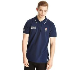 Canterbury Men's ER England Rugby Supporters Polo Shirt Navy (Medium)