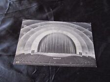 Vintage Black & White Photo Postcard-Interior Radio City Music Hall-New York