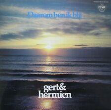 GERT & HERMIEN  - DAAROM BEN IK BLIJ  -  LP