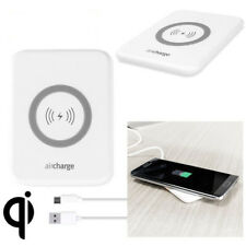 AIRCHARGE QI-CERTIFIED 5W WIRELESS CHARGING PAD FOR IPHONE 8/8 PLUS/X - WHITE