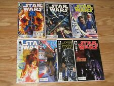 STAR WARS 2012 #1 2 3 4 5 6 7  DARK HORSE 7 COMIC LOT LUKE DARTH VADER